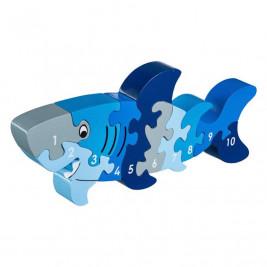 Puzzle Shark 1-10 wooden Lanka Kade