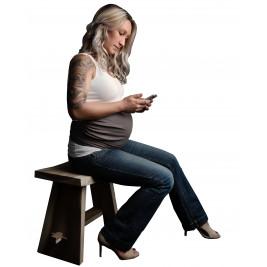 Bandeau de grossesse Anti-ondes électromagnétiques
