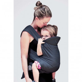 Ling Ling d'Amour M-Taï Anthracite - Porte-bébé Hybride