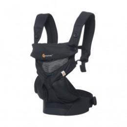 Ergobaby 360 Cool Air Mesh Noir Onyx - Porte-bébé 4 Positions