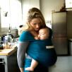 JPMBB Basic Baby Wrap Basic Retro Blue