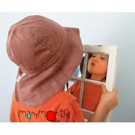 Manymonths chapeau chanvre ajustable Charmer/ Explorer 3-12/18 mois
