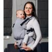 Lennylamb LennyUpGrade Standard Basic Line Selenite Gris - Porte-bébé
