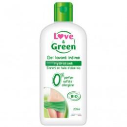 Love and Green Gel Washing Intimate Moisturizer Bio