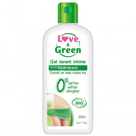 Love and Green Gel Lavant Intime Hydratant Bio