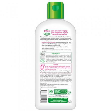 Love and Green Gel Lavant Intime Hydratant Bio