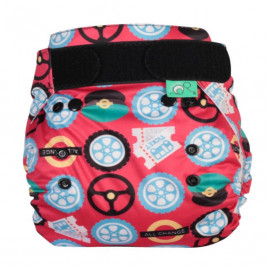 Totsbots Peenut Wheels on the Bus panties of protection