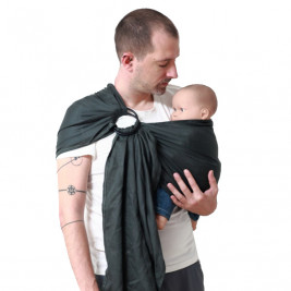 Ling Ling Love Sling Anthracite - baby carrier Sling