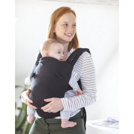Babylonia Tricot-click Black - baby carrier