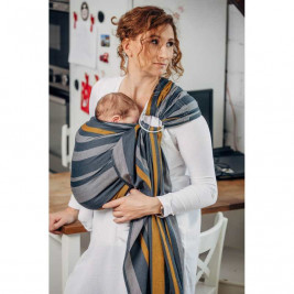 Lennylamb Sling Smoky Honey - baby carrier Sling