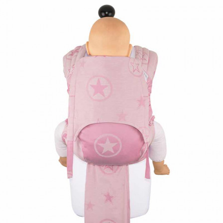Fidella Fly Tai Outer Space candy pink size toddler - Porte-bébé Meï-taï