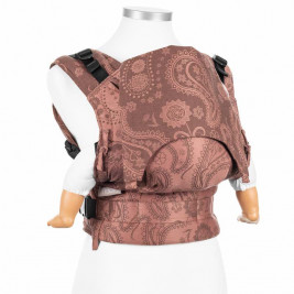 Fidella Fusion Persian Paisley dark brown (Size Baby) - baby carrier