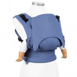 Fidella Fusion Chevron light blue (Size Baby) - baby carrier