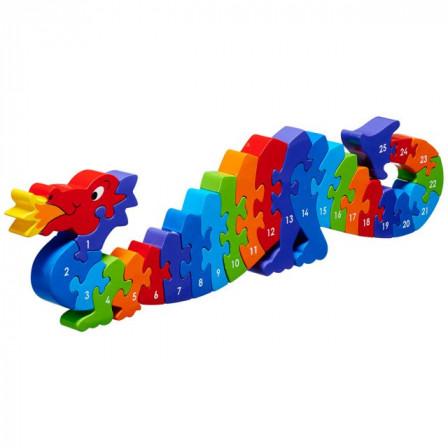 Puzzle Whale 1-25 wooden Lanka Kade