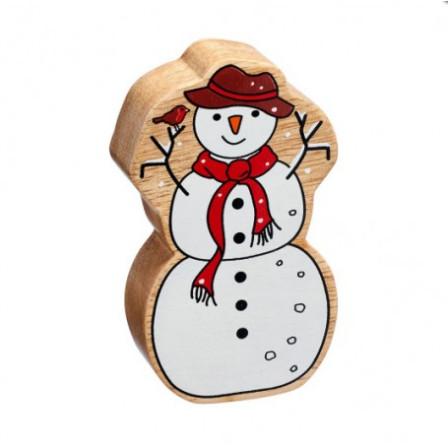 Snowman wooden Lanka Kade