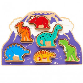 Lanka Kade World of dinosaurs to form Toy - wood