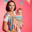Lennylamb Sling bamboo & cotton Pinacolada - baby carrier Sling