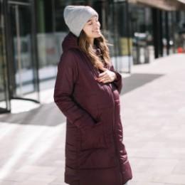 Love and Carry Manteau de portage et de grossesse V2 Marsala