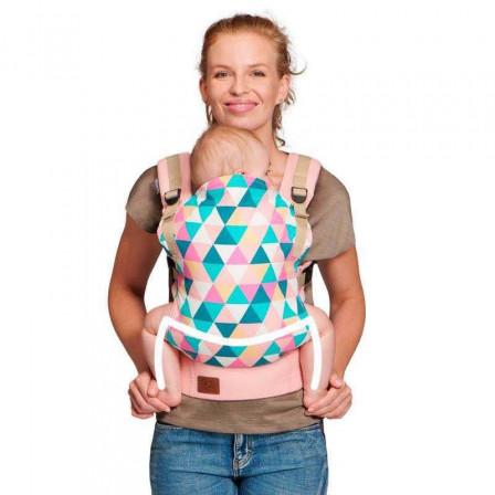 Kinderkraft Nino Pink - baby-carrier