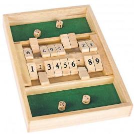 Goki Shut the Box (Double) - board Game in wood