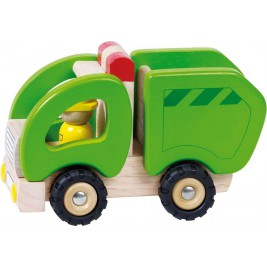 A trash-truck wood by Goki