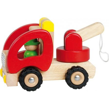 Tow trucks in wood by Goki