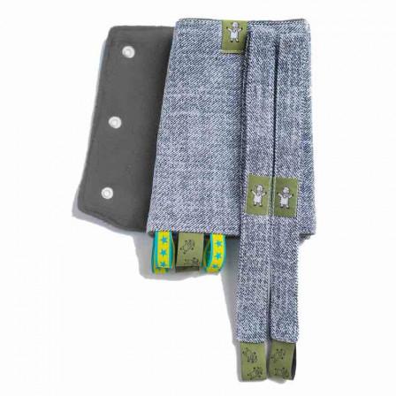 Lennylamb Guard straps Blue Denim