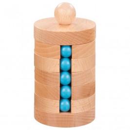 Goki Round beads - wooden toys