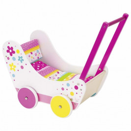 Susibelle Stroller for doll Toy - wood