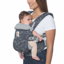 Ergobaby Omni 360 Grey Elephant - baby-carrier Expandable 4 Positions