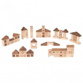 Goki Nature building Game city - wooden toys