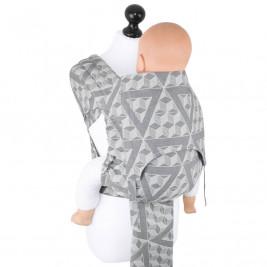 Fidella Fly Tai Tri-cubes rocher délavé (taille bambin) - Porte-bébé Meï-taï