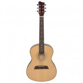 Goki Guitare en bois pour débutant