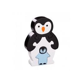 Puzzle Penguin and baby wooden Lanka Kade
