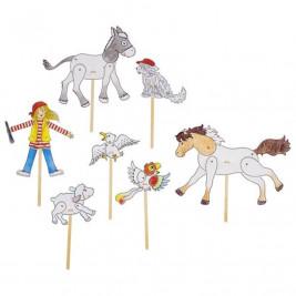 Goki Kit hobbies creative puppets Peggy Diggledey