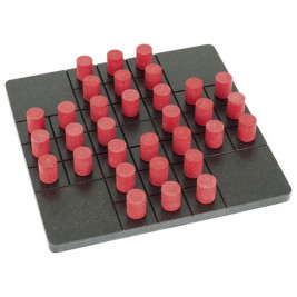 Game of solitaire wooden Goki