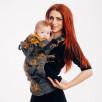 Lennylamb LennyGo Toddler WAWA - Grey & Mustard - Porte-bambin