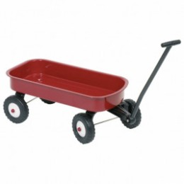 Goki Cart pull Toy - wood