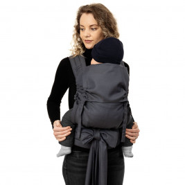 Fidella Fly Tai Diamonds Anthracite (size toddler) - Porte-bébé Meï-taï