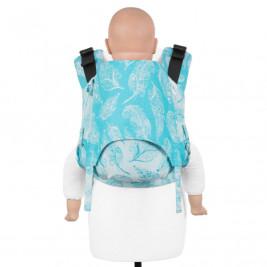 Fidella Fusion 2.0 Feather Rain Scuba Blue - Bears-toddler