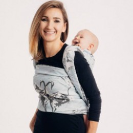 Lennylamb DANCE OF LOVE - baby carrier fabric woven