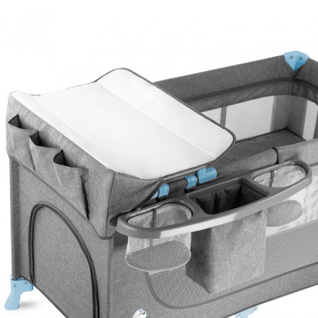 Kinderkraft Joy 2-in-1 Travel Bed for child with accessory
