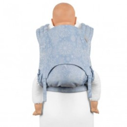 Fidella Fly Tai Iced Butterfly Light Blue size Toddler mei-tai