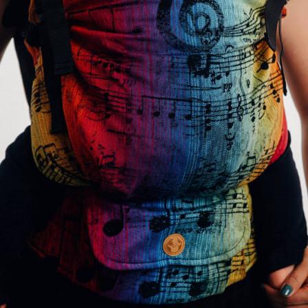 LennyLamb LennyPreschool Symphony Rainbow Dark - Porte-enfant