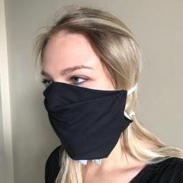 Mask anti-projection fabric