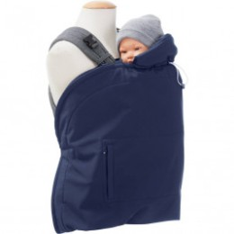 Mamalila couverture de portage Evolutive Softshell Vario Bleu Marine