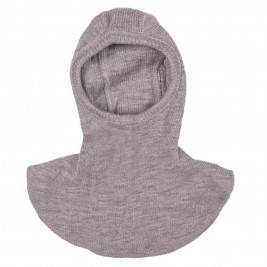 Manymonths Silver Cloud - Hooded baby pure merino wool