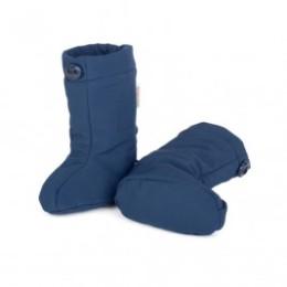 Naturioù slippers portage Softshell Navy