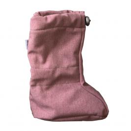 Naturioù chaussons de portage Softshell Dust Pink