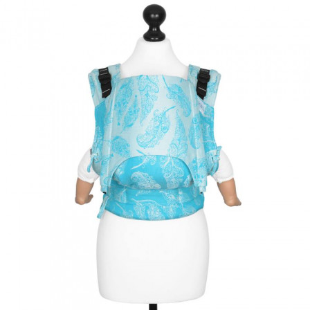 Fidella Fusion Porte-bébé Feather Rain Scuba Bleu (Taille Bébé)